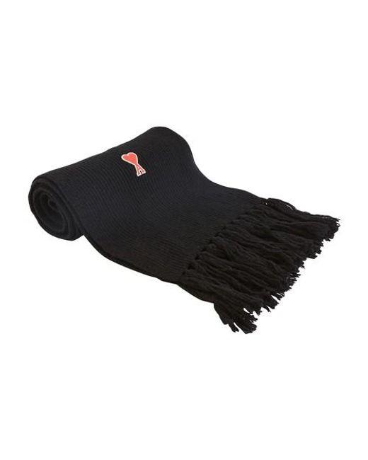 Echarpe en laine de Caur AMI pour homme en coloris Black