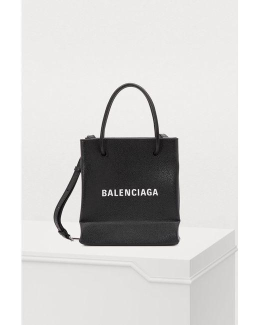 Balenciaga - Black Xxs Tote Bag - Lyst ... 57dc8d346f347