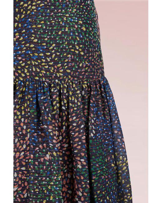 Purchase Your Favorite  Fireworks Printed Cotton Long Skirt Chloé Orange 100% Original TfSIxIIaM