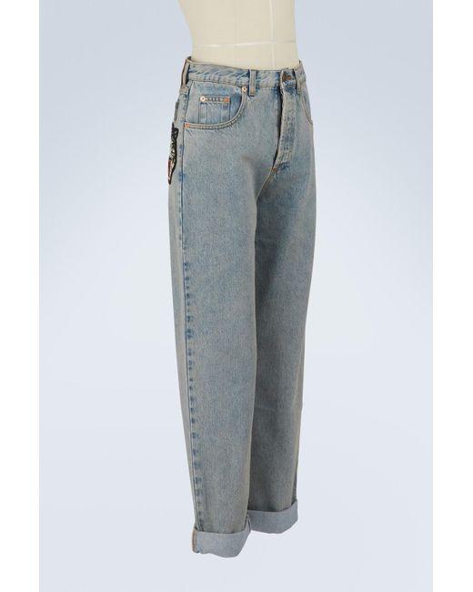 80s stone-washed jeans Gucci SJNuKU