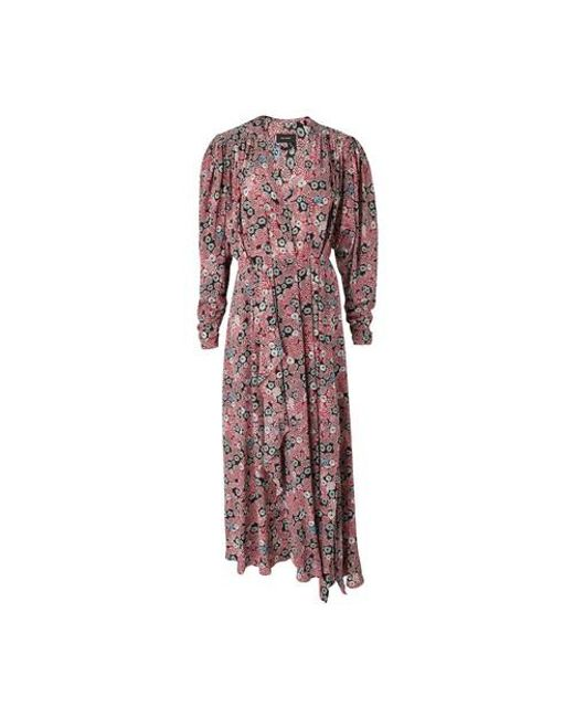 Robe Blaine Isabel Marant en coloris Pink