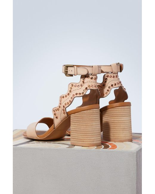 Chloé Ginny heeled sandals