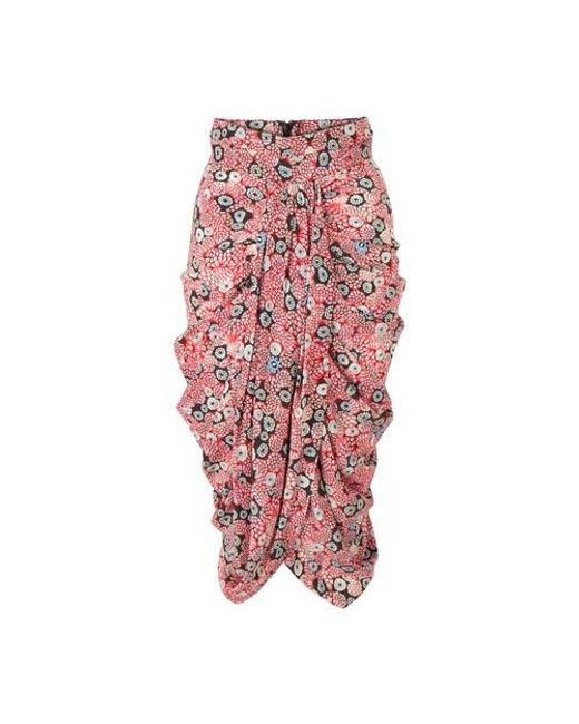 Isabel Marant Pink Betina Skirt