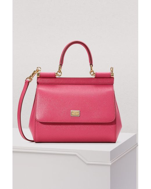 Dolce   Gabbana - Pink Sicily Pm Bag - Lyst ... 452378b187