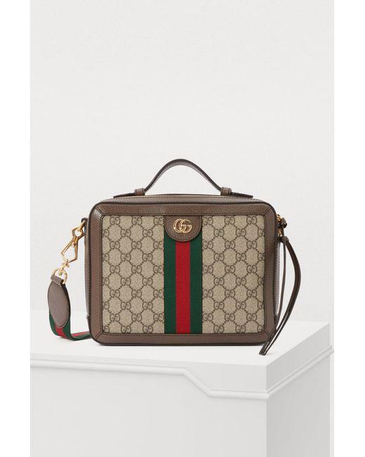 Gucci Natural Ophidia Shoulder Bag