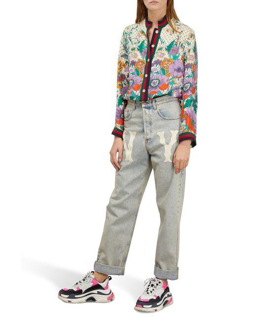 """Sneakers """"Triple S"""" Balenciaga en coloris Multicolor"""