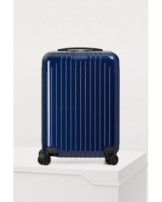 Rimowa Blue Essential Cabin S luggage