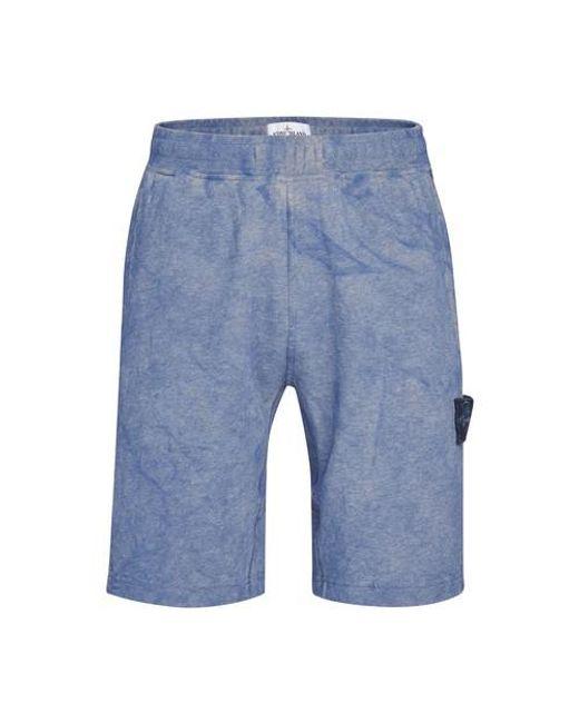 Short bermuda Stone Island pour homme en coloris Blue