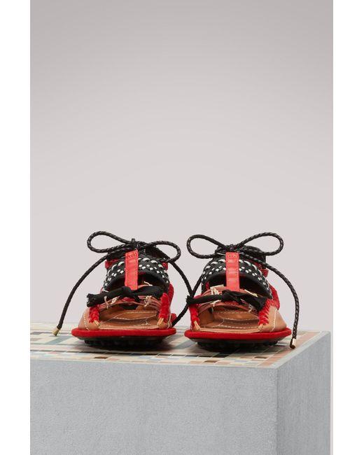 Carven Berri open-toe sandals CEFFrW