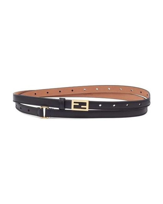 Fendi Black Belt