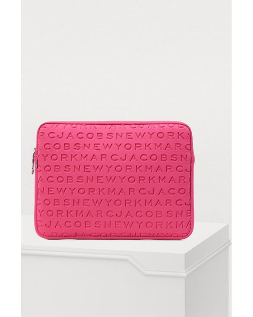 """Marc Jacobs - Pink 13"""" Computer Case - Lyst"""
