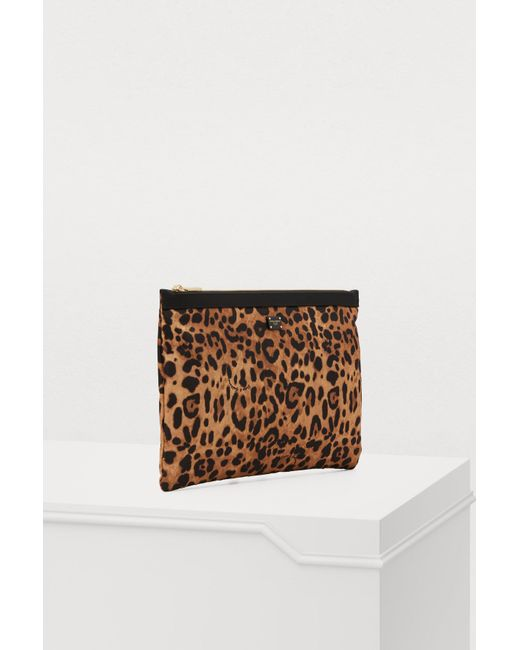 ... Dolce   Gabbana - Multicolor Leopard Clutch ... 94794dade9f33