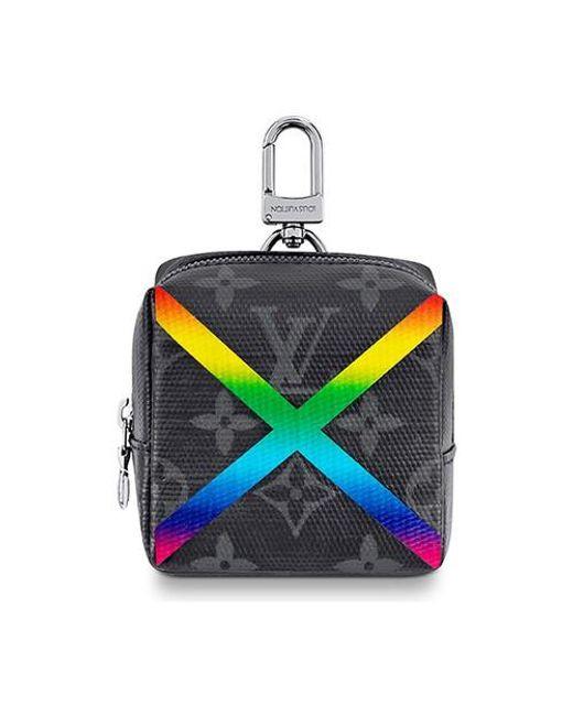 Louis Vuitton Multicolor Box Pouch Bag Charm for men