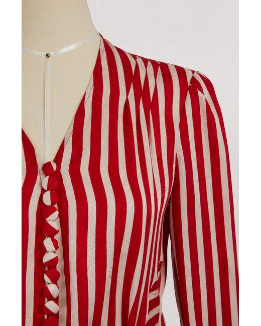Taylor silk shirt Stella McCartney Free Shipping Top Quality Big Sale New Cheap Price Buy Cheap Authentic 100% Original For Sale BIBO0Srbt
