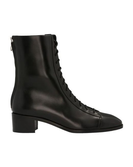 Aeyde Black Noel Ankle Boots