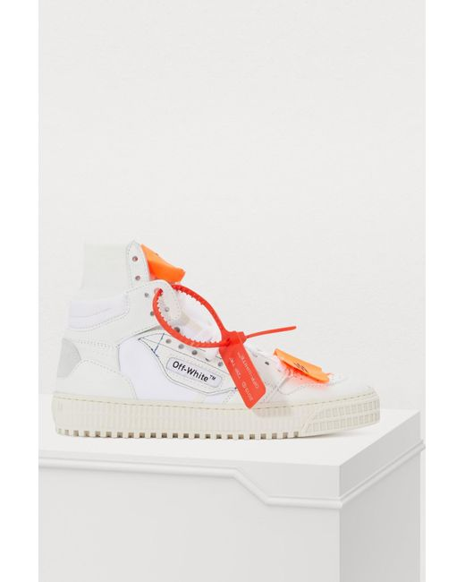 5fa499cb0cae9b Off-White c/o Virgil Abloh Off Court High-top Sneakers in White - Lyst