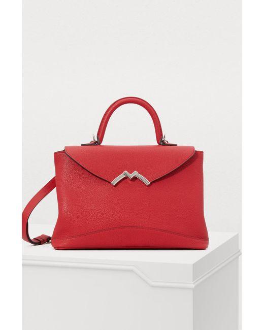 ae848753db9f4 Moynat Gaby Medium Handbag in Red - Lyst