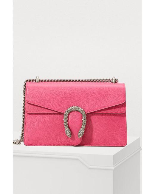 a4108cdea592 Gucci - Multicolor Dionysus Leather Shoulder Bag - Lyst ...