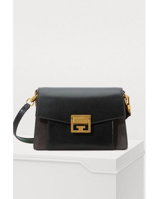 Petit Sac Coloris Croisé Lyst Noir Givenchy En Porté Gv3 wmn0vN8