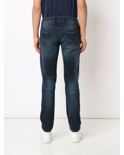 diesel 39 waykee jogg 39 jeans in blue for men lyst. Black Bedroom Furniture Sets. Home Design Ideas