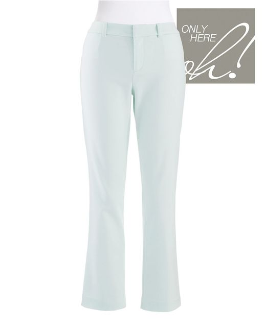 424 Fifth | Blue Cropped Pants | Lyst