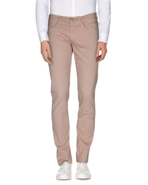 Siviglia Casual Pants in Beige for Men (Skin color) - Save 73% | Lyst