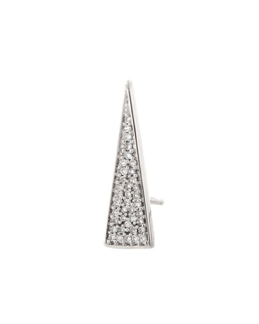 Demitasse | Metallic Exaggerated Triangle Stud | Lyst