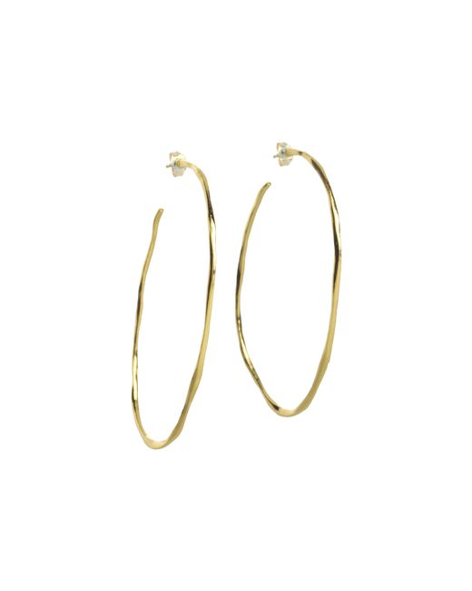 Gorjana | Metallic Laurel Large Hoops | Lyst