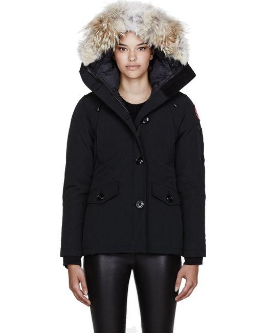 Canada Goose victoria parka sale price - Canada goose Black Down and Fur Montebello Parka in Black | Lyst
