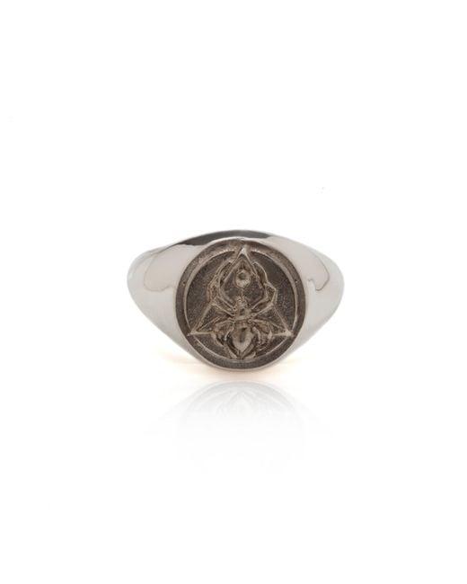 Rachel Entwistle | Metallic The Creation Signet Ring Silver | Lyst
