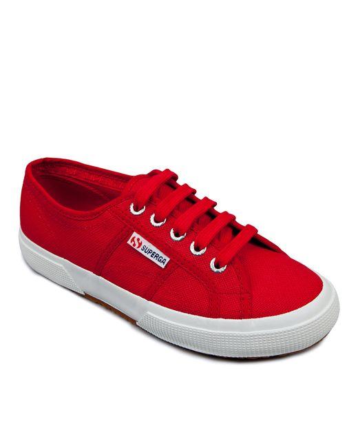 Superga   Red Cotu Classic Sneakers   Lyst