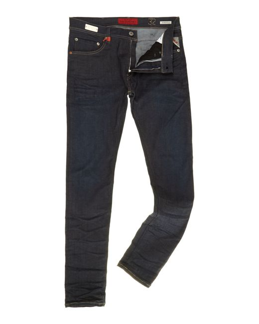 Replay | Blue Jondrill Hyperflex Skinny Fit Jeans for Men | Lyst