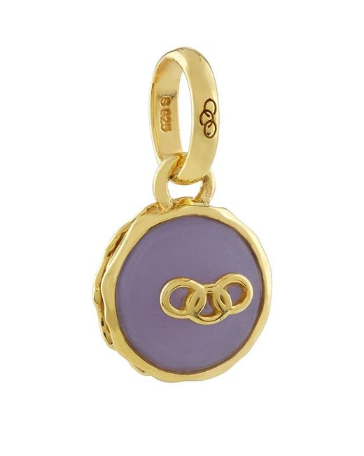 Links of London | Purple Lavender Macaron Charm | Lyst