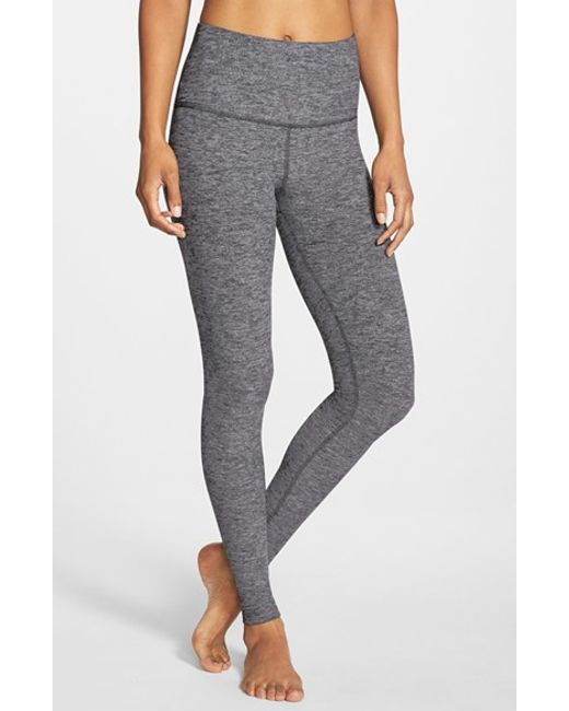 Beyond Yoga High Waist Leggings In Gray