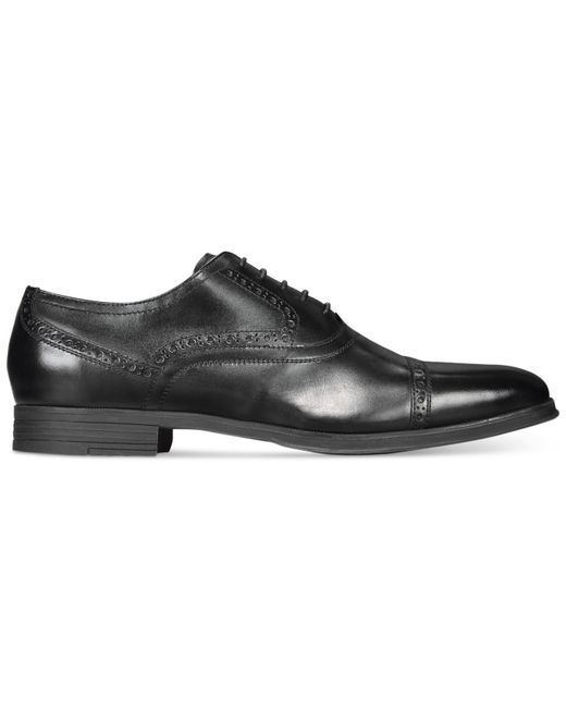 Cole Haan | Black Montgomery Cap Toe Oxfords for Men | Lyst
