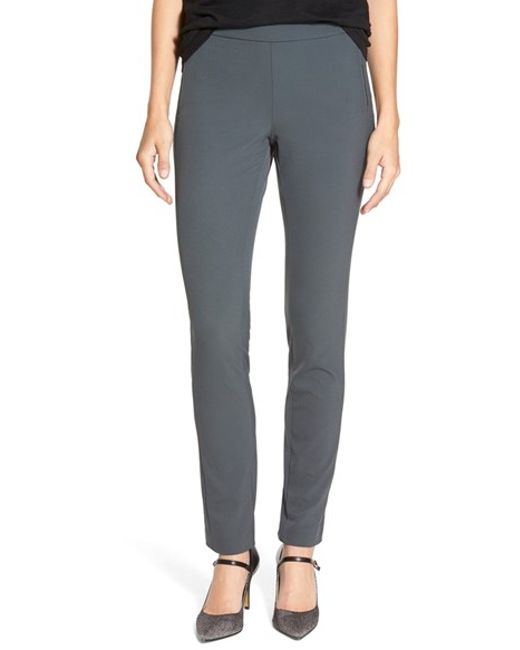NYDJ | Gray 'jacqueline' Leggings | Lyst