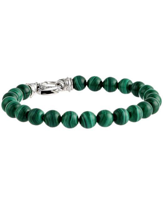 Stephen Webster | Green London Calling Beaded Bracelet for Men | Lyst