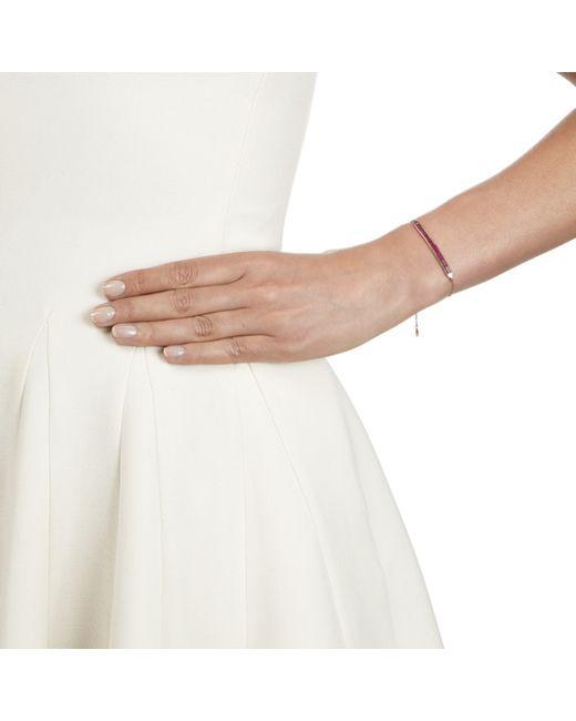 Monica Vinader | Purple Baja Precious Skinny Bracelet | Lyst