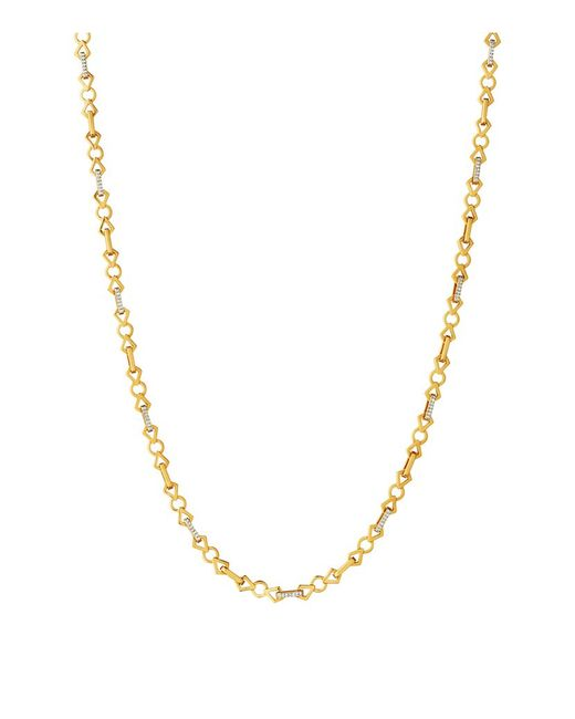 Links of London | Metallic Timeless Gold Necklace | Lyst