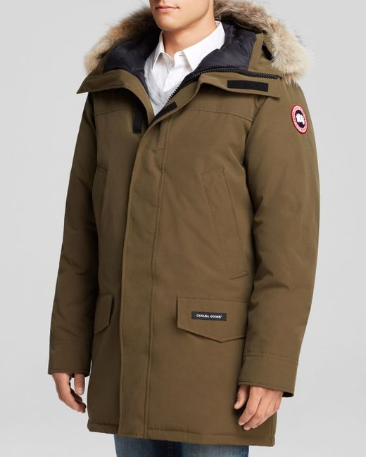 Canada Goose | Brown Langford Parka With Fur Hood for Men | Lyst
