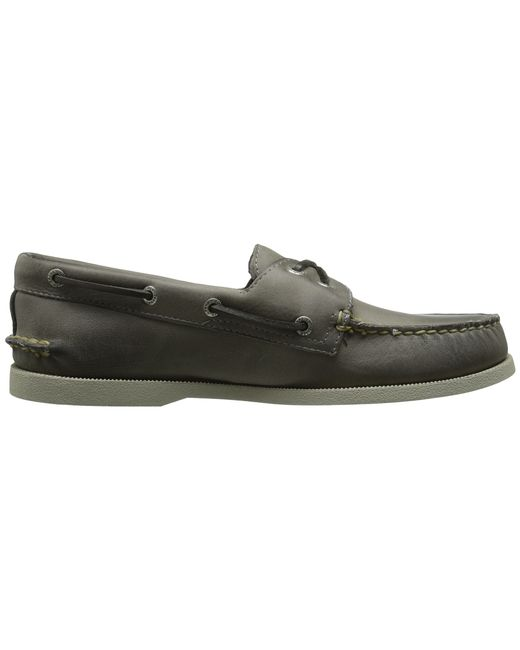 Sperry Top-Sider | Gray A/o 2-eye Cross Lace for Men | Lyst
