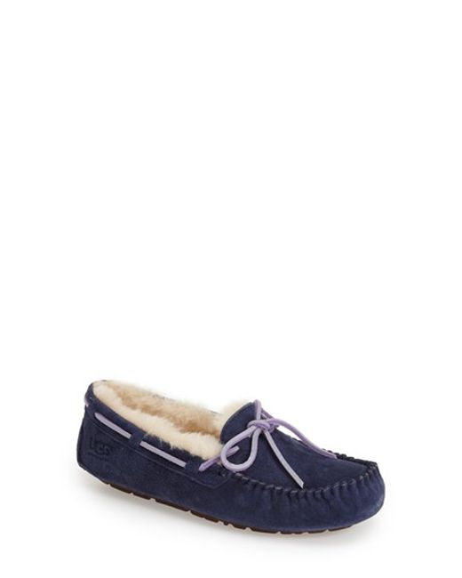 Ugg | Blue 'Dakota' Slipper | Lyst