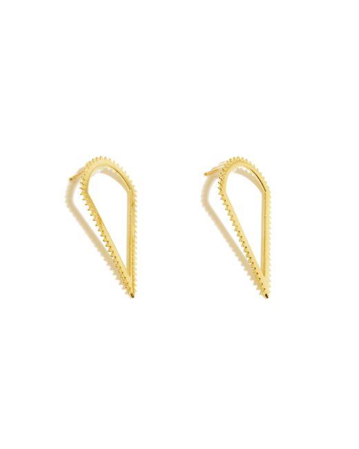 Luis Morais | Metallic Triangle Creative Energy Earrings | Lyst