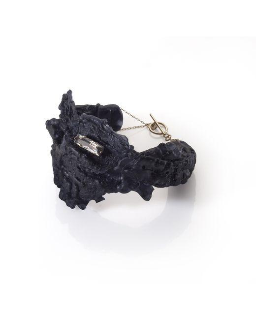 Noritamy | Nikko Black Polymer Bracelet | Lyst