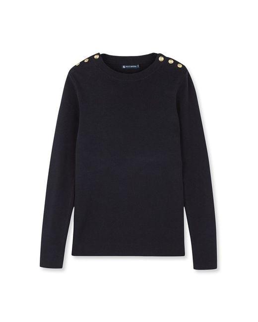 Petit Bateau | Black Women's Sailor Sweater | Lyst