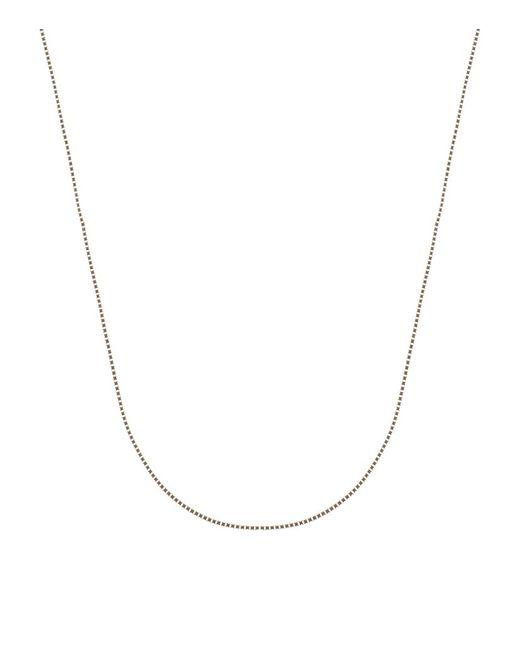 Carat* | Metallic Yellow Gold Box Chain | Lyst