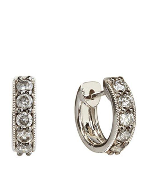 Annoushka | Metallic Dusty Diamonds Mini Hoop Earrings | Lyst