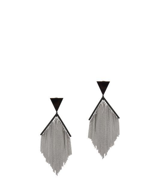 Missoni | Black Fringed Earrings | Lyst
