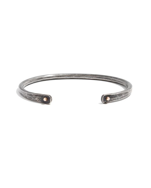 Melissa Joy Manning | Metallic Men's Oxidized Silver Cuff With Gold Accents for Men | Lyst