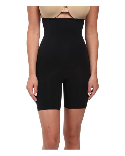 Spanx | Black Higher Power Shorts | Lyst
